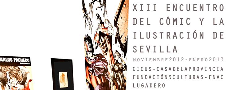 Encuentro del cómic y la ilustración en Sevilla