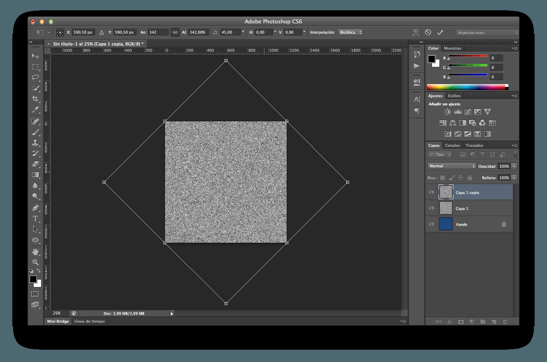 Textura vaquera paso 4