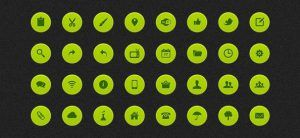 Pack de iconos web