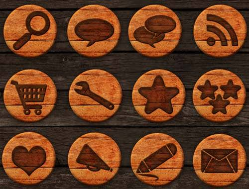 iconos-sociales-madera